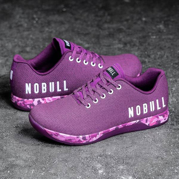Photograph of NOBULL Women's Training Shoe in Purple Heather
