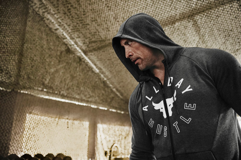 Under Armour Project Rock All Day Hustle Double Knit Full-Zip Jacket